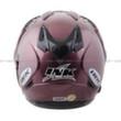 INK T1 Solid - Deep Purple/BK Helm Open Face