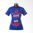 Ncore Hope Anchors The Soul Biru Atasan Wanita