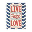Insight-Unlimited Live Laugh Love Buku Catatan