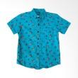 Norlive Hook Shirt Kids Blue Kemeja Anak Laki-Laki