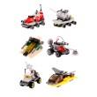 Qubik Combat Creative Blocks Compatible with Lego Full Set Mainan Anak [6 Variants]