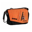 Okiedog Loft Samurai Orange Black Diaper Bag