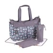 Okiedog Metro Damask Blue Diaper Bag