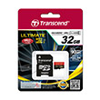 Transcend Ultimate 600x UHS-I MicroSDHC Memory Card [32 GB/Class 10]