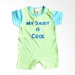 PLEU K Daddy Cool Green Jumpsuit Anak Laki-Laki