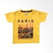 Pleu TS-Plastisol Paris Yellow Atasan Anak Laki - Laki