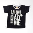 PLEU Tshirt Mum-Dad Navy Kaos Anak Laki Laki