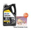 Mobil Delvac MX SAE 15W-40 Oli Pelumas [5 Liter]