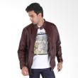 Sogno Leather Jaket Kulit 77.5555.020 Maroon