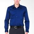 The Executive JUSTIN CT STRLS Shirt Blue