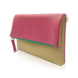 VONA Pitta Clutch - Purple / Beige