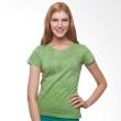 Wise Word Wear Ladies Basic T-shirt Green